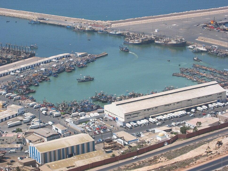 Agadir Port pêche 0093