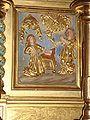 Ahetze (Pyr-Atl., Fr) Détail du retable, l'Annonciation.JPG