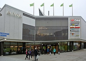 Ainoa (shopping centre) - The Ainoa shopping centre.