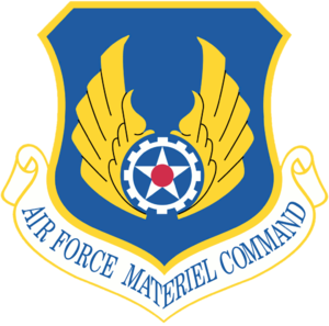 Emblem of Air Force Materiel Command, a Major ...