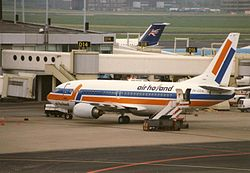 Eine Boeing 737-300 der Air Holland