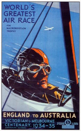 MacRobertson Air Race - MacRobertson Air Race poster, 1934
