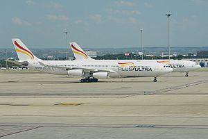 Plus Ultra Líneas Aéreas - Both Plus Ultra Airbus A340-300s