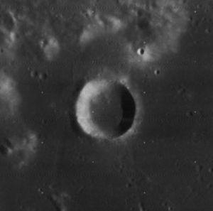 Al-Bakri (crater) - Image: Al Bakri crater 4085 h 2