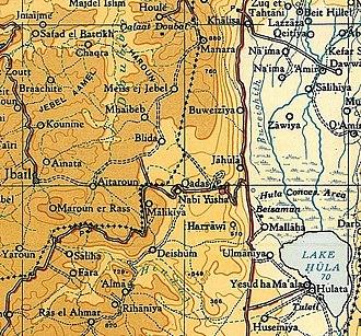 Al-Nabi Yusha' - Al-Nabi Yusha'.1945. Survey of Palestine. Scale 1:250,000