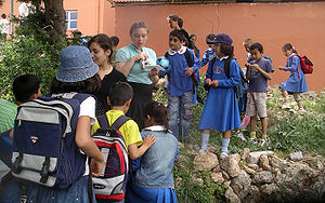 Alanya school children