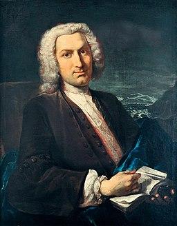 Albrecht von Haller 1736