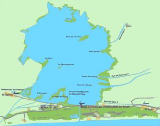 Albufera - Map: Albufera de València