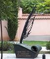 Alcalá de Henares (RPS 25-10-2020) Camino de la Lengua Castellana, escultura.png