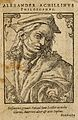 Alessandro Achillini. Woodcut by T. Stimmer, 1589. Wellcome V0000031.jpg