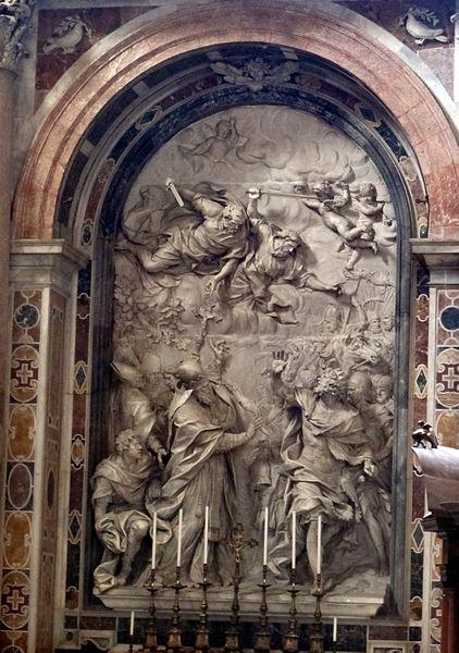 File:Alessandro Algardi, altare di san leone magno (1645-53).JPG