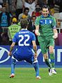 Alessandro Diamanti and Gianluigi Buffon Euro 2012 England-Italy 02.jpg