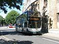 Alexander Dennis Enviro 400H diesel-electric hybrid bus in Magdalen Street, Oxford, England 02.jpg