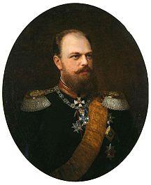 Kaiser Alexander III. von Russland