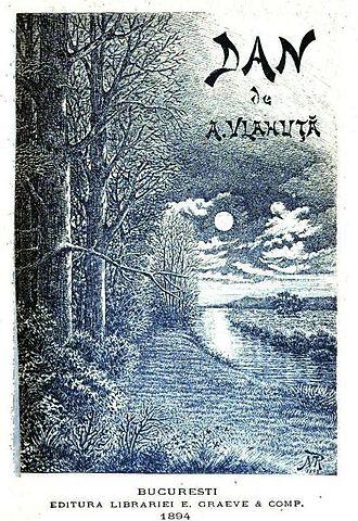 Luceafărul (poem) - Image: Alexandru Vlahuta prima pagina Dan 1894