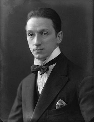 Stanley Anderson (artist) - Stanley Anderson in 1921