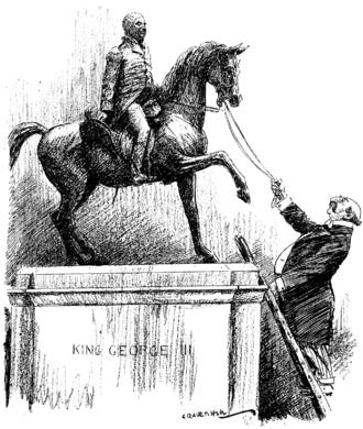 Alfred Mond, 1st Baron Melchett - Image: Alfred Mond cartoon from Punch Project Gutenberg e Text 16707