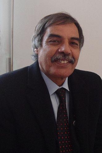 2012 Libyan parliamentary election - Image: Ali Tarhouni cropped GNC