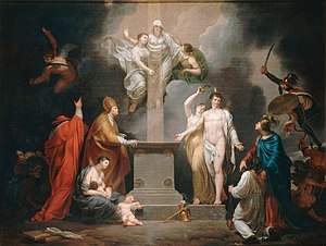 Concordat of 1801 - Allegory of the Concordat of 1801, by Pierre Joseph Célestin François