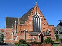 All Saints Anglican Church exterior, Dunedin, NZ.JPG