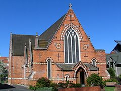 All Saints Anglican Church exterior, Dunedin, NZ.JPG
