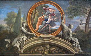 Alphée poursuivant Aréthuse