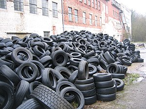 Extended producer responsibility - Tires are an example of products subject to extended producer responsibility in many industrialized countries.