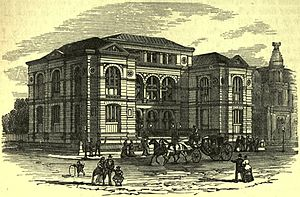 "Lenox Library (New York City) - Lenox Library, 1879, ""The American Cyclopædia"""