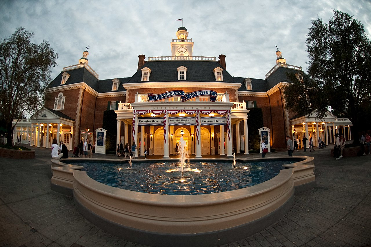 heritage manor disney epcot america