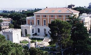 Rome Prize -  American Academy in Rome where prizewinners stay