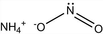 Ammonium nitrite - Image: Ammonium Nitrite 2D