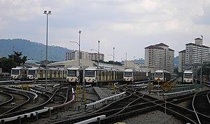 Ampang, Selangor - Ampang depot