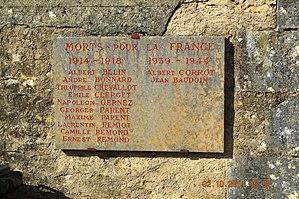 Ampilly-les-Bordes - Ampilly-les-Bordes War Memorial