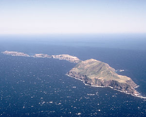 National Register of Historic Places listings in Ventura County, California - Image: Anacapa Island Aerial