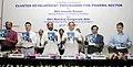 "Ananth Kumar launching the ""Cluster Development Programme for Pharma Sector"", in New Delhi. The Minister of State for Chemicals & Fertilizers, Shri Hansraj Gangaram Ahir, the Secretary, Department of Pharmaceutical.jpg"
