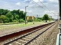 Anaparti railway station board.jpg