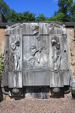 Andrew Skene - Andrew Skene's grave, New Calton Burial Ground