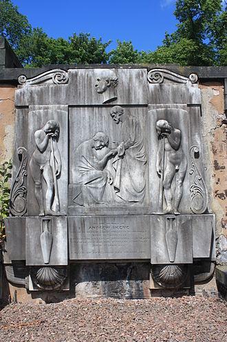Andrew Skene - Andrew Skene's grave, New Calton Burial Ground