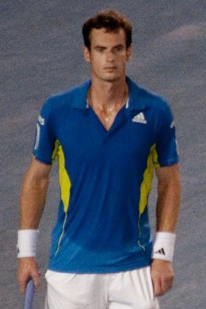 English: Andy Murray, Australian Open 2010 Qua...