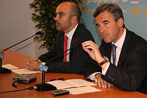 Angel Acebes y Daniel Sirera