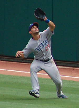 Ángel Pagán - Pagán playing for the Chicago Cubs in 2007