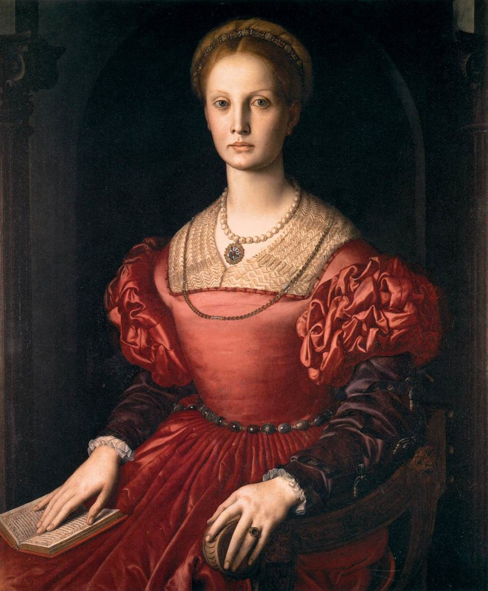 Angelo Bronzino - Portrait of Lucrezia Panciatichi - WGA3266
