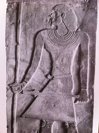 Ankhtifi - Ankhtifi from his tomb at el-Mo'alla