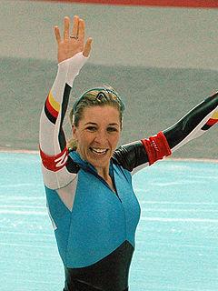Anni Friesinger-Postma German speed skater