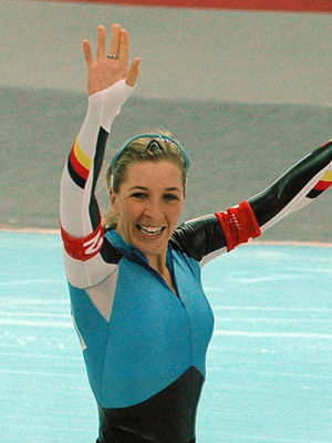 Germany at the 2006 Winter Olympics - Anni Friesinger won gold in the team pursuit and bronze in the 1000 m