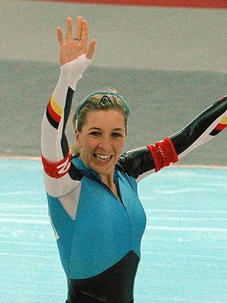 Anni Friesinger-Postma - Anni Friesinger at the 2006 Winter Olympics