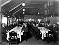 Anniversary dinner given by the Northern Pacific Railroad staff officers from the South Tacoma shop in honor of HA Lyddon at the (TRANSPORT 215).jpg