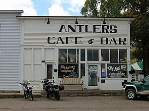 National Register of Historic Places listings in Routt County, Colorado - Image: Antlers Cafe and Bar