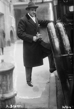 Antonio Scotti - Scotti in 1915