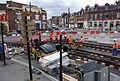 Anzin & Valenciennes - Travaux de raccordement des lignes A & B du tramway de Valenciennes à la Croix d'Anzin le 19 août 2013 (20).JPG
